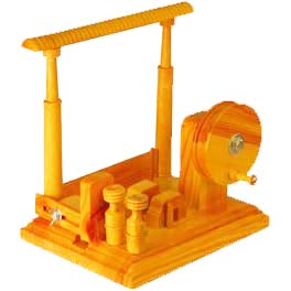 H133 Hand Operated Winder with Rail